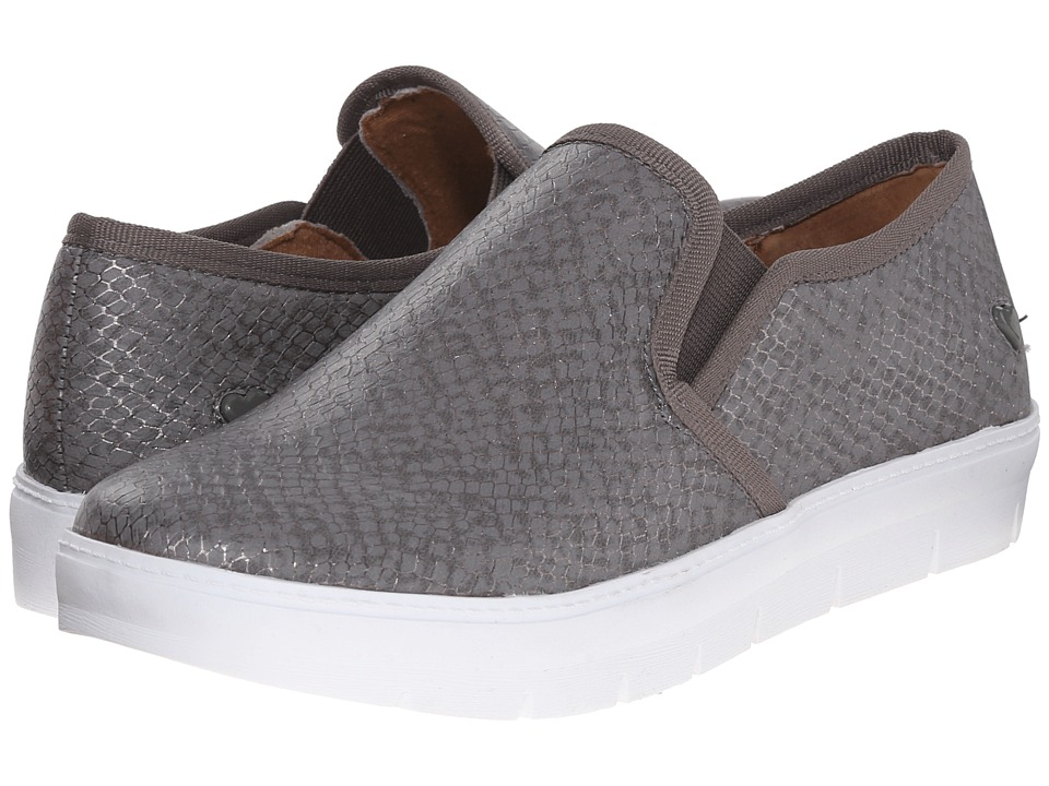 Nurse Mates - Adela (Pewter Snake) Women's Slip on Shoes