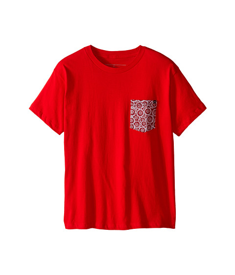 Rip Curl Kids - Redrum Custom Tee (Big Kids) (Red) Boy's T Shirt