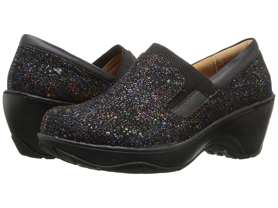Nurse Mates - Briley (Black Rainbow) Women's Clog Shoes