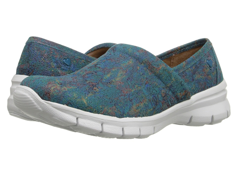 Nurse Mates - Libby (Teal Tie-Dye) Women's Clog Shoes
