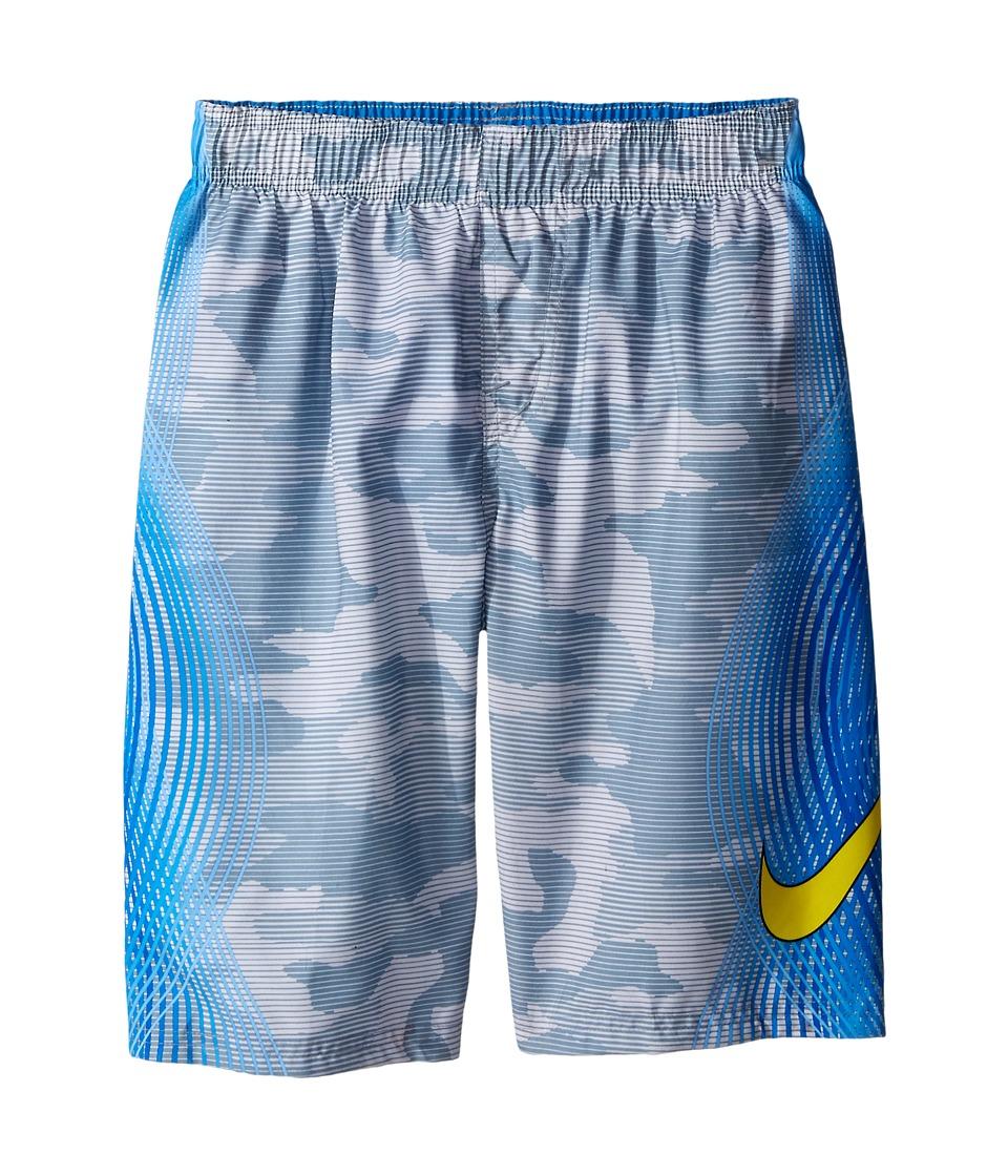 Nike Kids - Camotion Volley Shorts (Big Kids) (Dove Grey) Boy's Swimwear