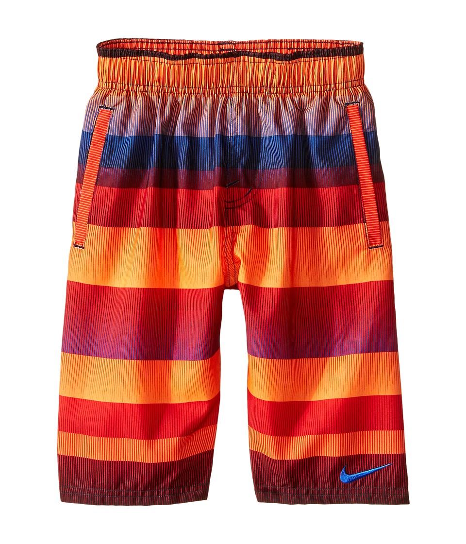 Nike Kids Optic-Shift Volley Shorts (Big Kids) (Total Orange) Boy