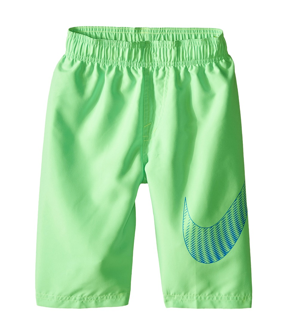 Nike Kids - Evenflow Volley Shorts (Big Kids) (Voltage Green) Boy's Swimwear
