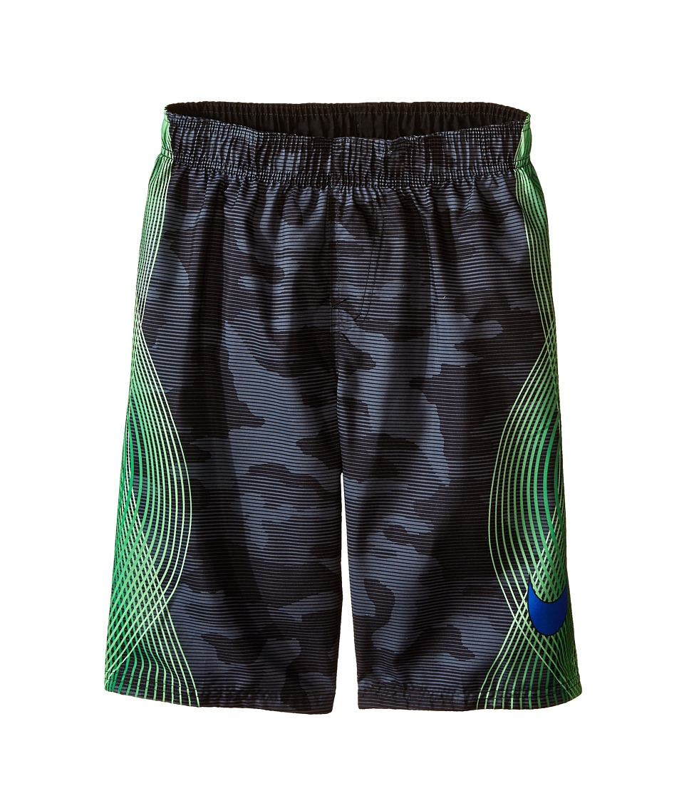 Nike Kids Camotion Volley Shorts (Big Kids) (Black) Boy