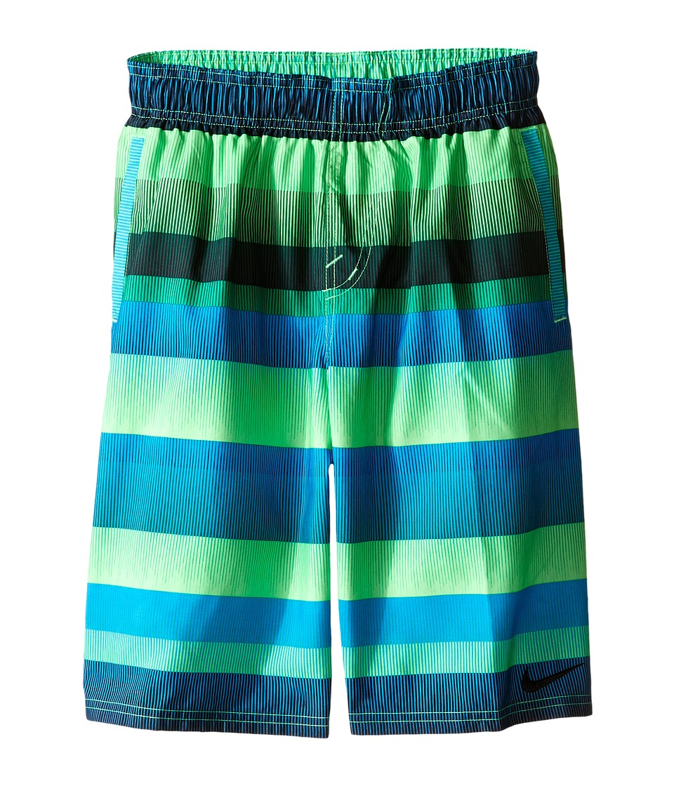 Nike Kids - Optic-Shift Volley Shorts (Big Kids) (Voltage Green) Boy's Swimwear