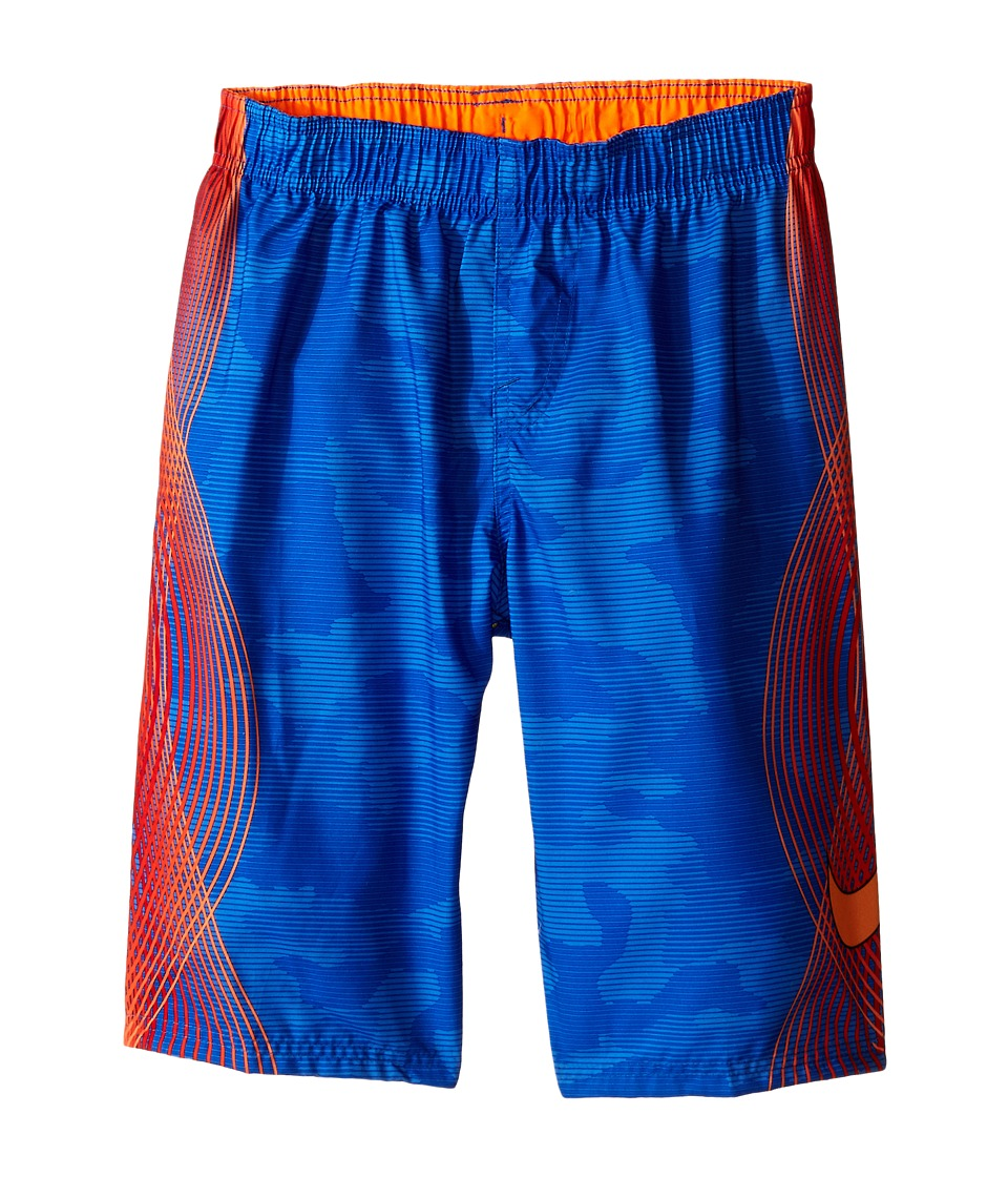 Nike Kids - Camotion Volley Shorts (Big Kids) (Hyper Cobalt) Boy's Swimwear