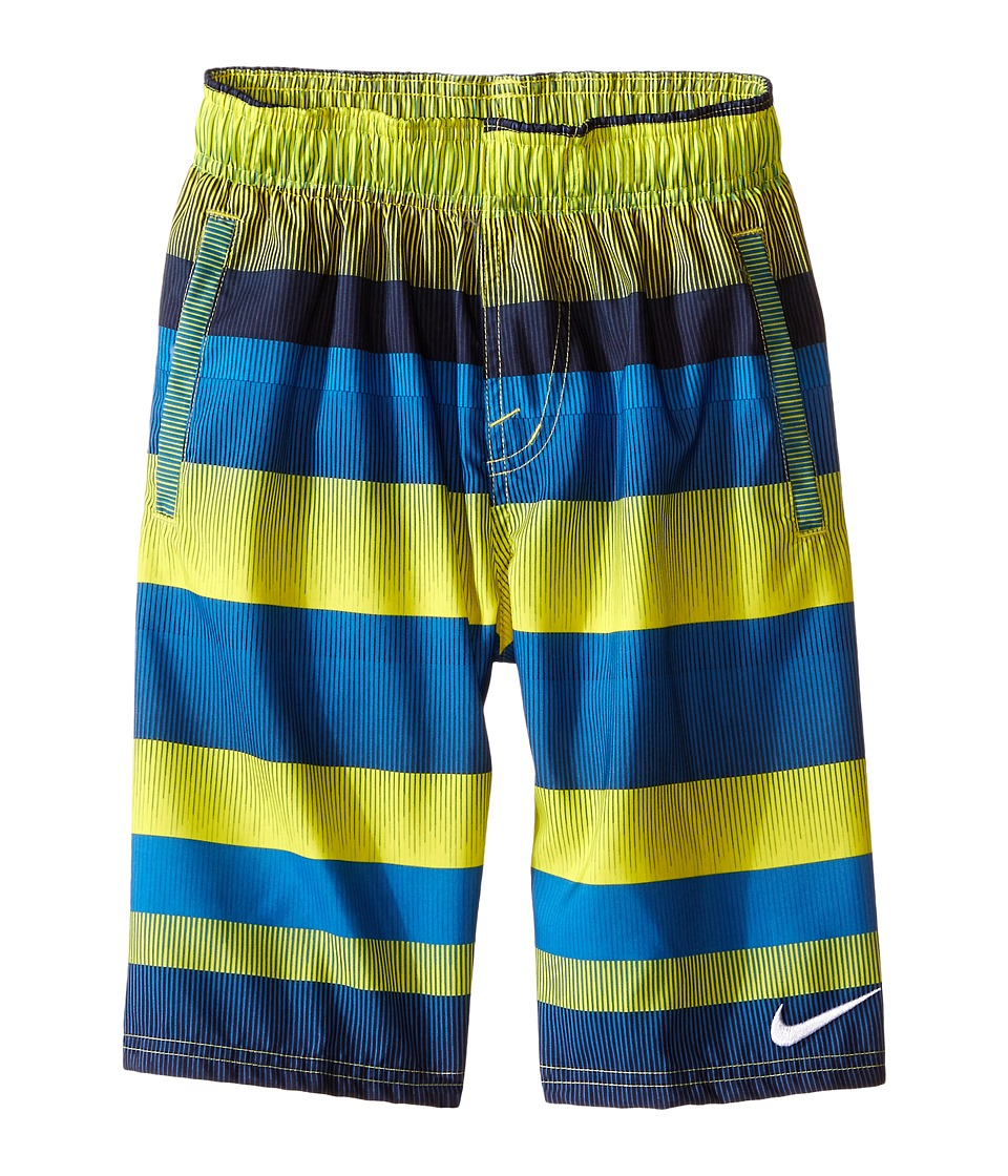 Nike Kids - Optic-Shift Volley Shorts (Big Kids) (Photo Blue) Boy's Swimwear
