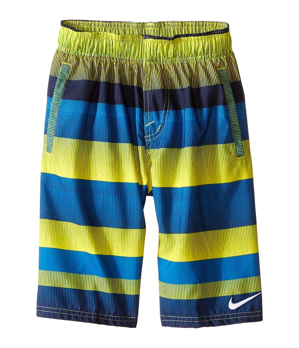 Nike Kids - Optic-Shift Volley Shorts (Big Kids) (Photo Blue) Boy's Swimwear