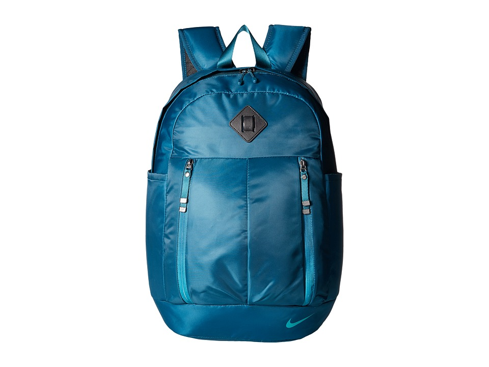 Nike - Auralux Backpack (Midnight Turquoise/Black/Rio Teal) Backpack Bags