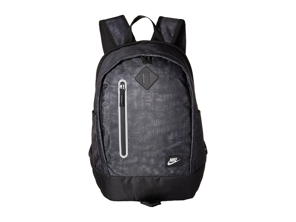 Nike - Young Athletes Cheyenne Print Backpack (Black/Black/Rio Teal) Backpack Bags