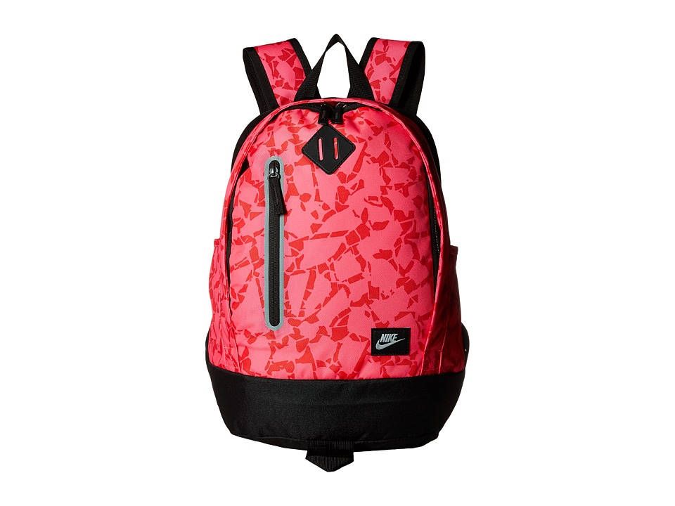 Nike - Young Athletes Cheyenne Print Backpack (Hyper Pink/Black/Metallic Silver) Backpack Bags