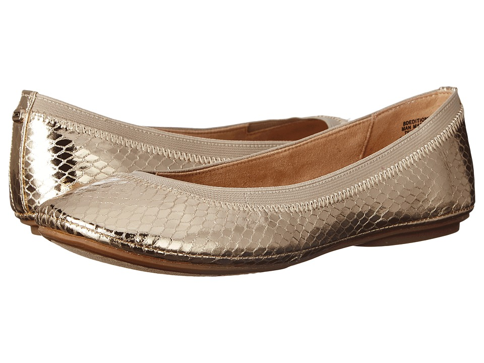 Bandolino - Edition (Gold Multi Synthetic) Women's Flat Shoes
