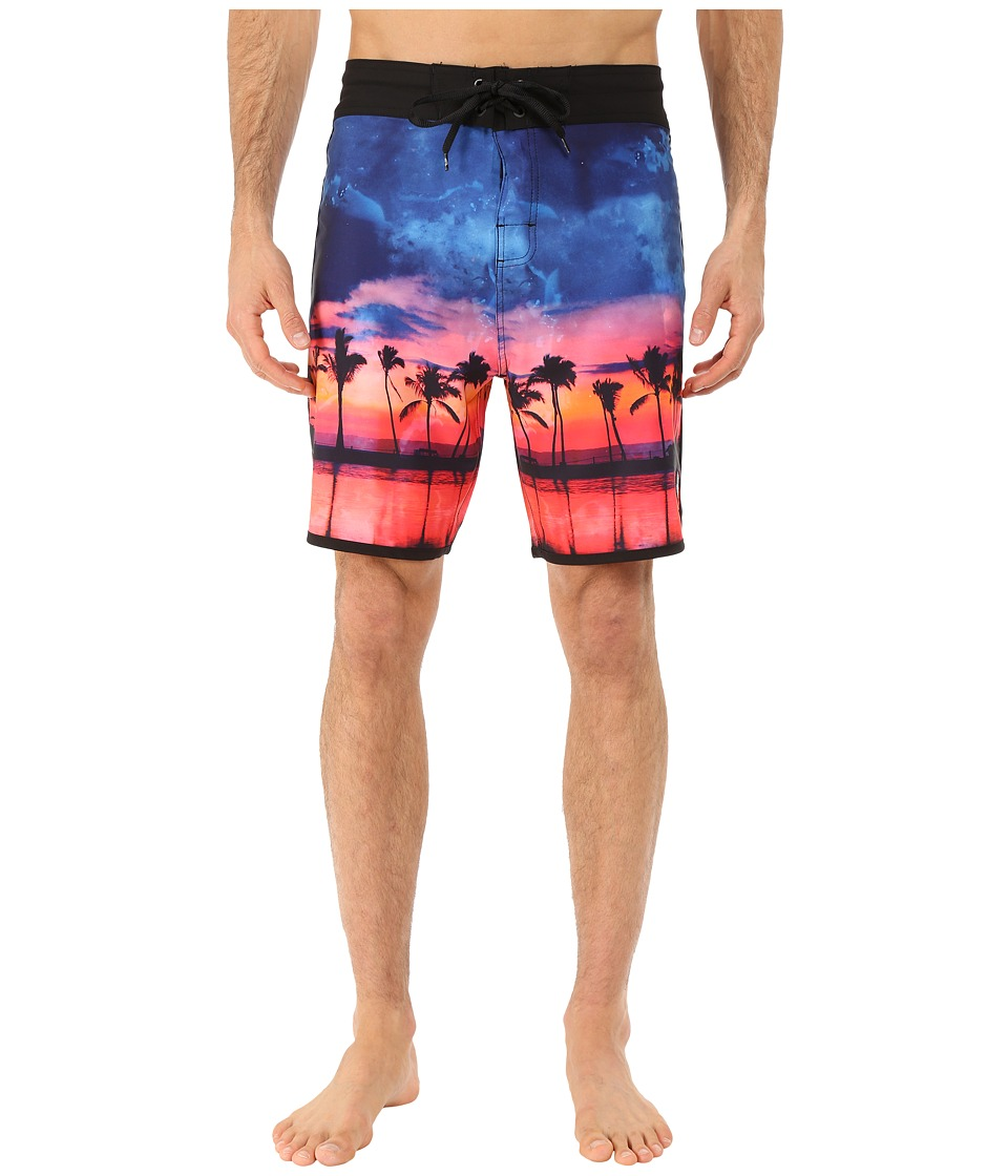 Body Glove - Vaporskin Sunset Session Boardshorts (Multi) Men's Swimwear