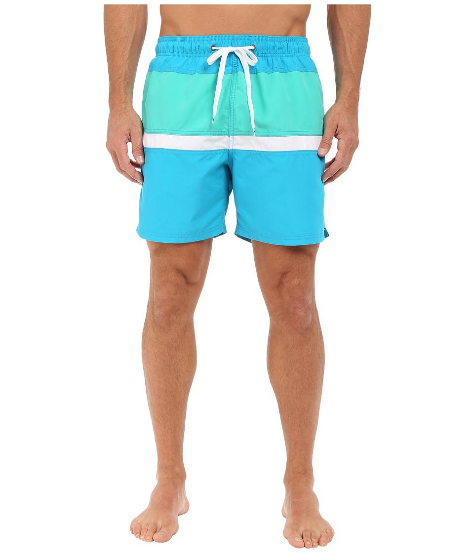 Body Glove - Side Lines Volleys Boardshorts (Ocean) Men's Swimwear