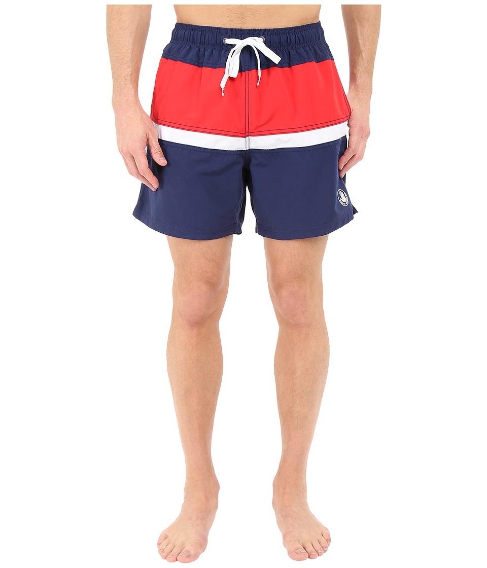 Body Glove - Side Lines Volleys Boardshorts (Indigo) Men's Swimwear