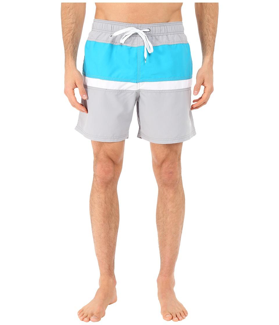 Body Glove - Side Lines Volleys Boardshorts (Grey) Men's Swimwear