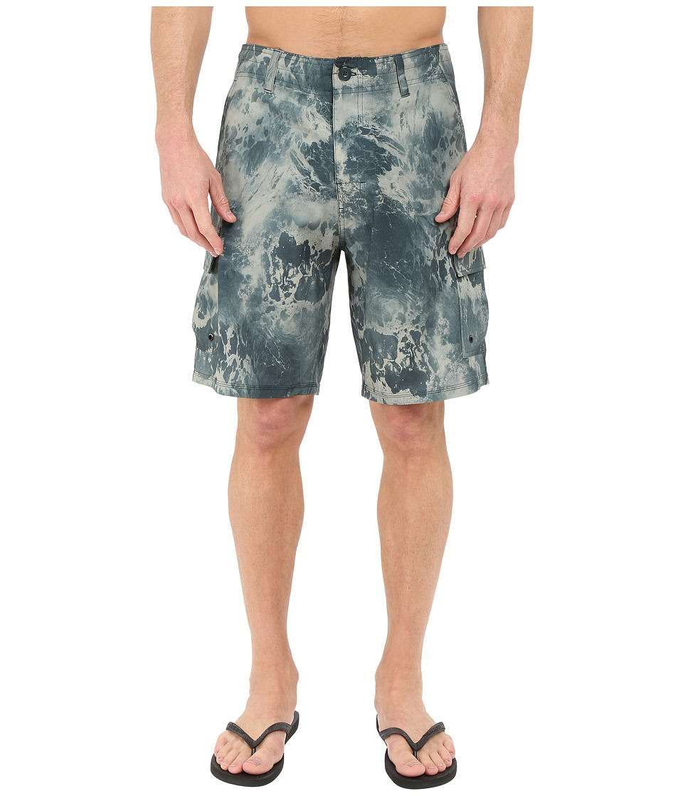 Body Glove - White Water Shorts (Army Green) Men's Swimwear
