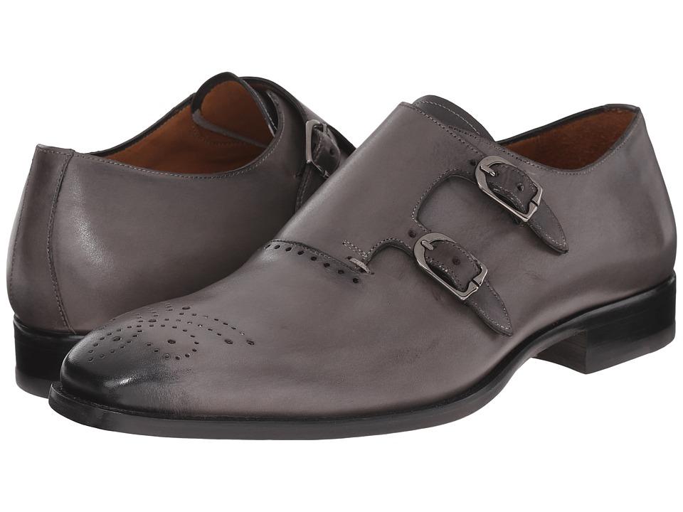 Mezlan - Gris (Light Grey) Men's Monkstrap Shoes