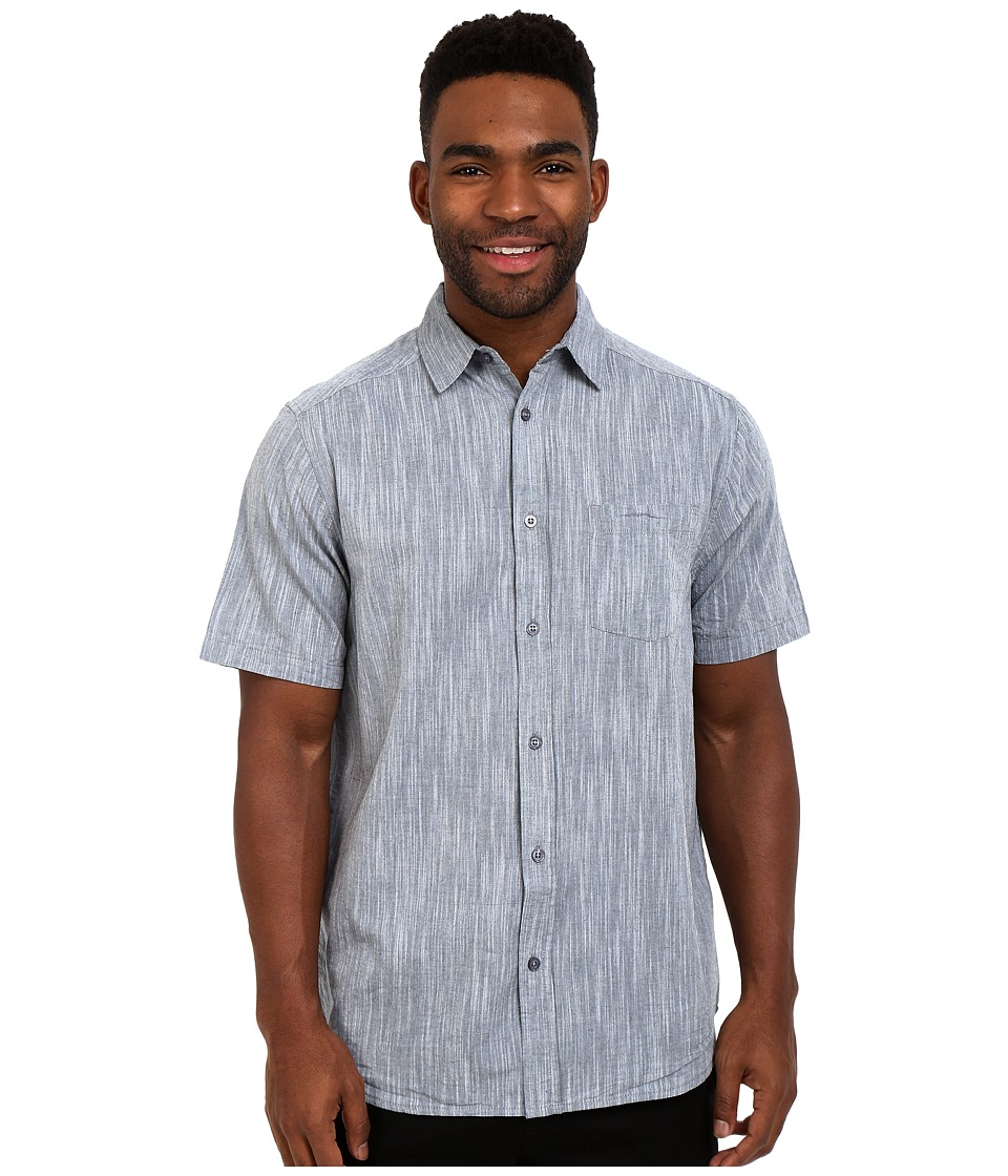 Body Glove - Staples Shirt (Charcoal) Men's Short Sleeve Button Up