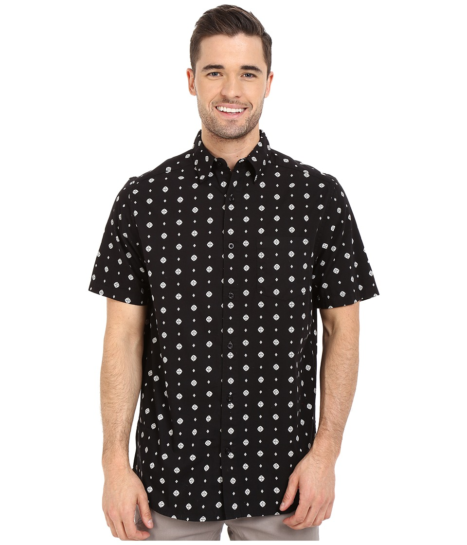 Body Glove - Potzdorf Shirt (Black) Men's Short Sleeve Button Up