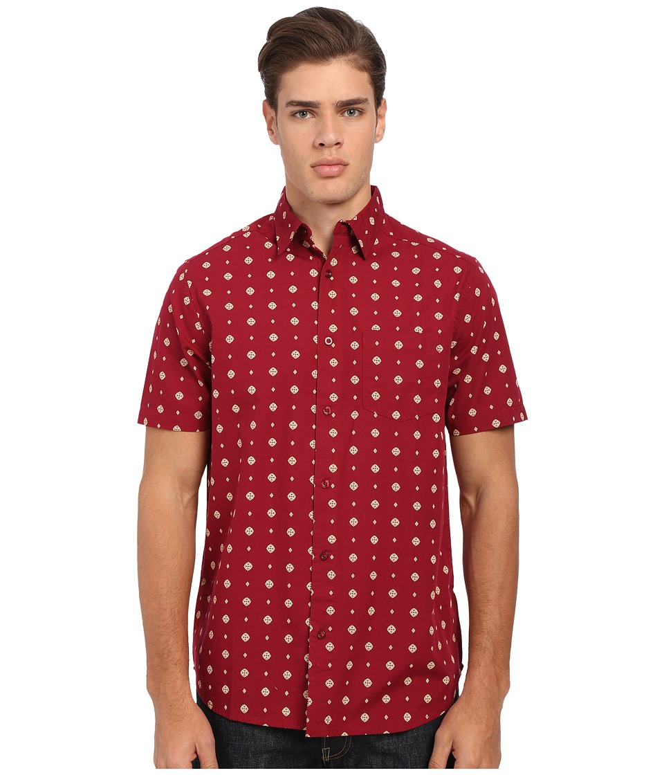 Body Glove - Potzdorf Shirt (Brick) Men's Short Sleeve Button Up