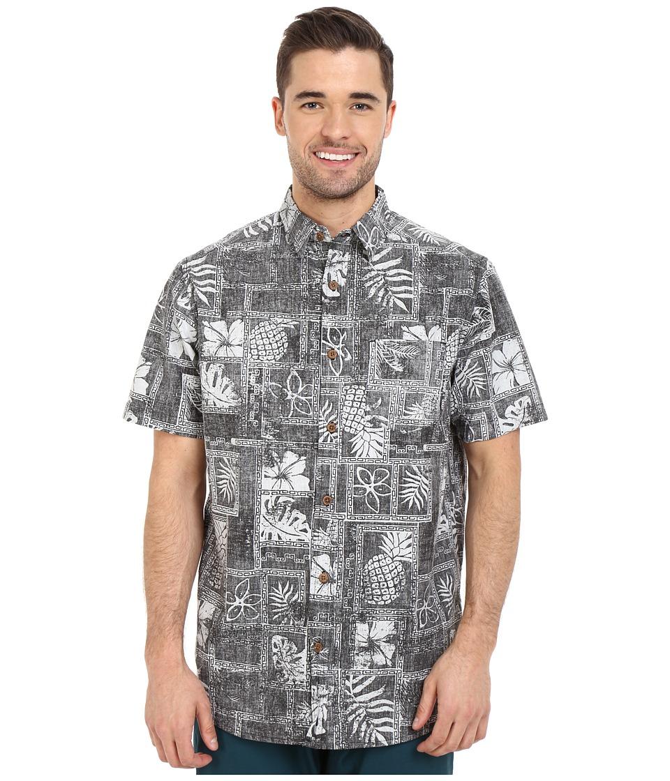 Body Glove - North Kihei Shirt (Black) Men's Short Sleeve Button Up