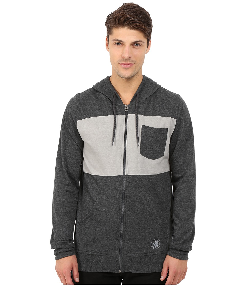 Body Glove - Zupper Nice Hoodie (Black Heather) Men's Sweatshirt