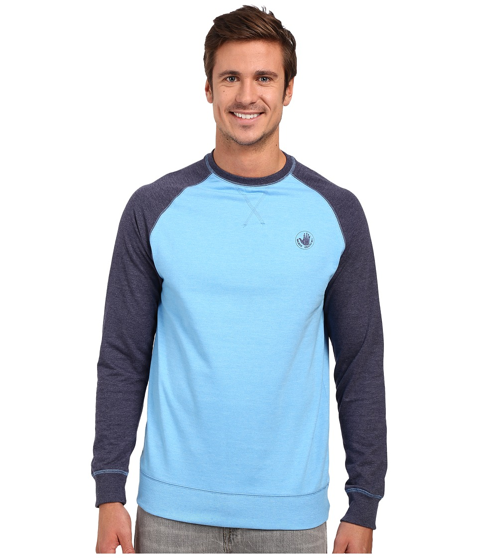 Body Glove - Pantera Crew Top (Light Blue Heather) Men's Sweatshirt