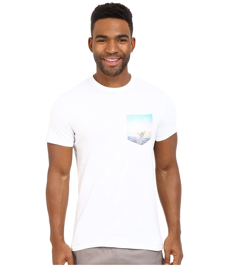 Body Glove - 47151-Howzit! Tee (White) Men's T Shirt