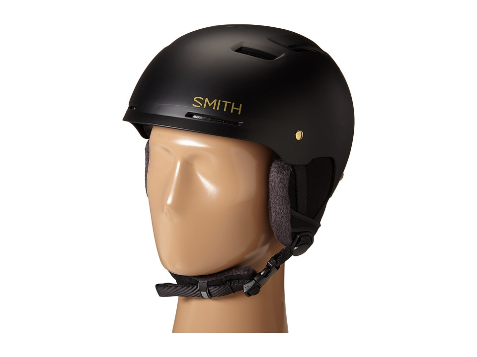 Smith Optics - Pointe (Matte Black/Gold) Helmet