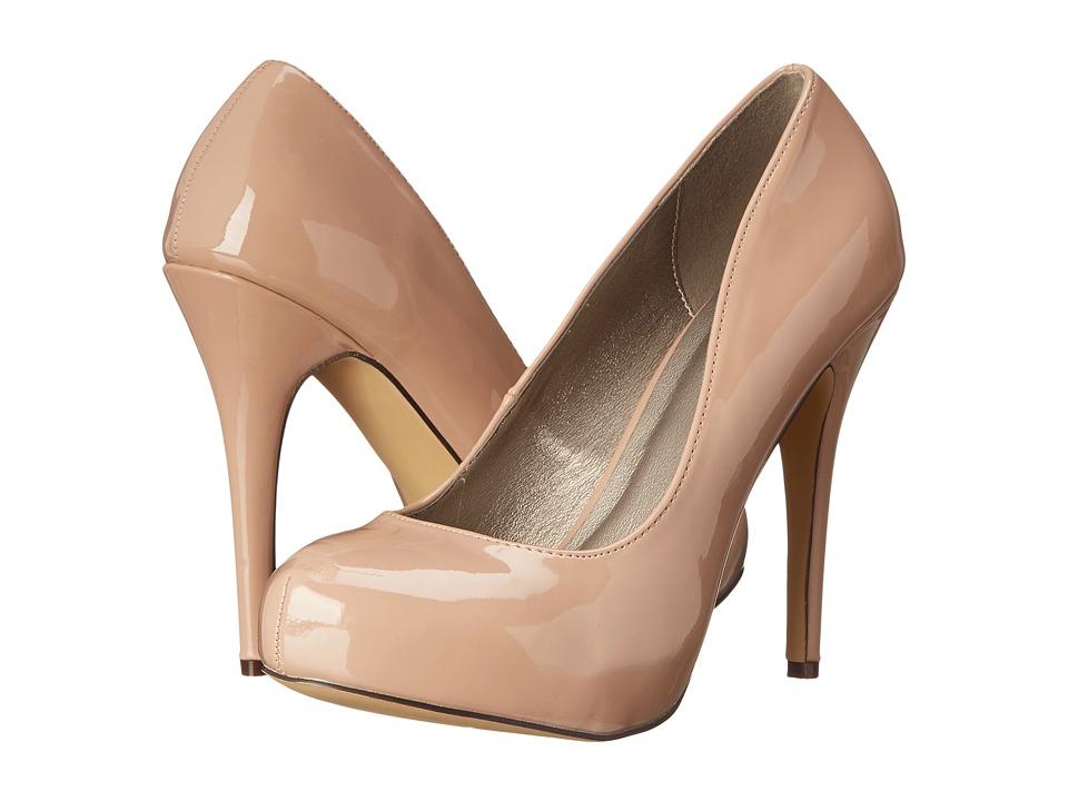 Michael Antonio - Loveme - Patent 3 (Nude 2 Patent) High Heels