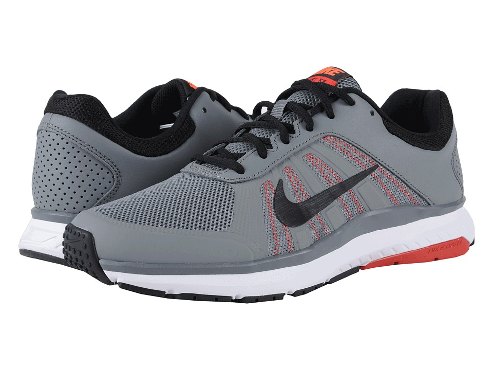 Nike - Dart 12 (Cool Grey/Black/University Red/Total Crimson/White) Men's Running Shoes