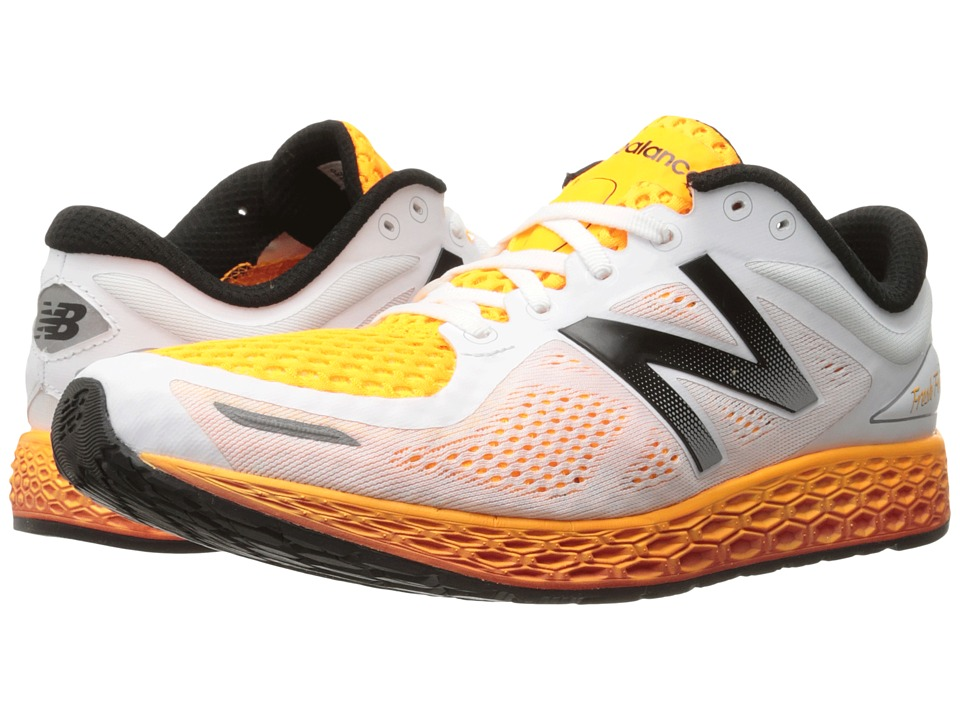 New Balance - Fresh Foam Zante V2 (White/Impulse) Men's Running Shoes