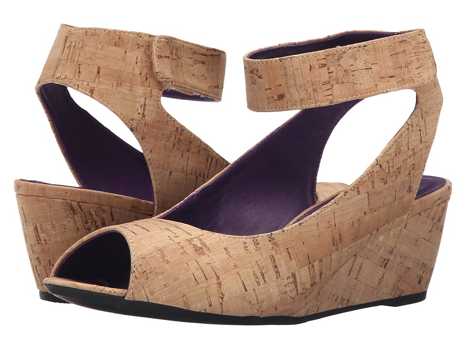 Vaneli - Wiley (Natural Cork) Women's Wedge Shoes