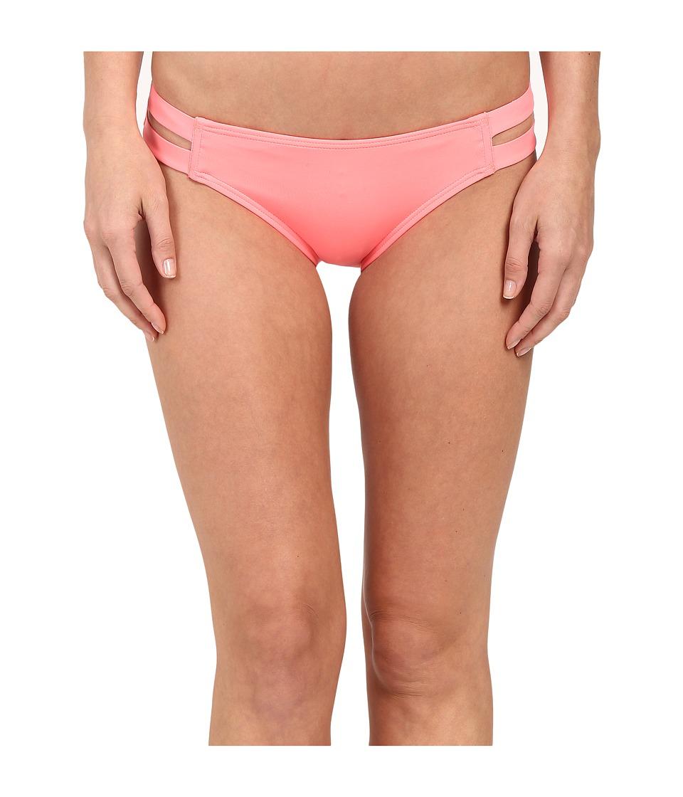 Vince Camuto Strap Side Bikini (Coral Suga) Women