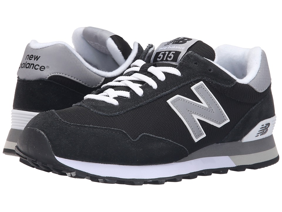 New Balance - ML515v1 (Black/Grey) Men's Classic Shoes