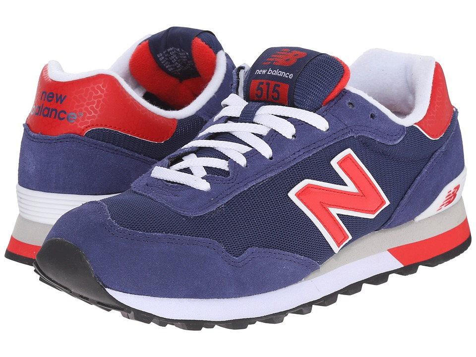 New Balance - ML515v1 (Navy/Red) Men's Classic Shoes