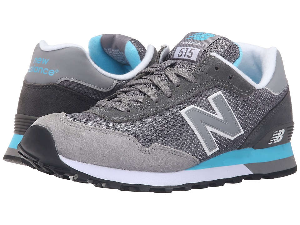 New Balance - ML515v1 (Grey/Green) Men's Classic Shoes
