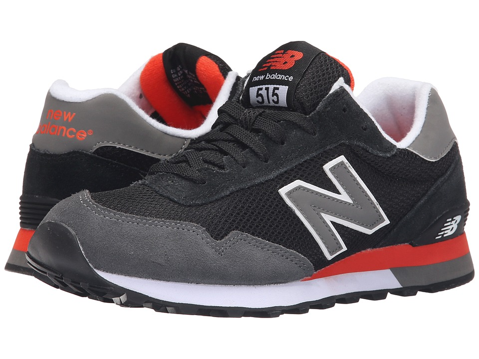 New Balance - ML515v1 (Black/Grey 2) Men's Classic Shoes