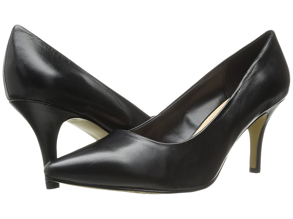 Bella-Vita Define (Black Leather) High Heels