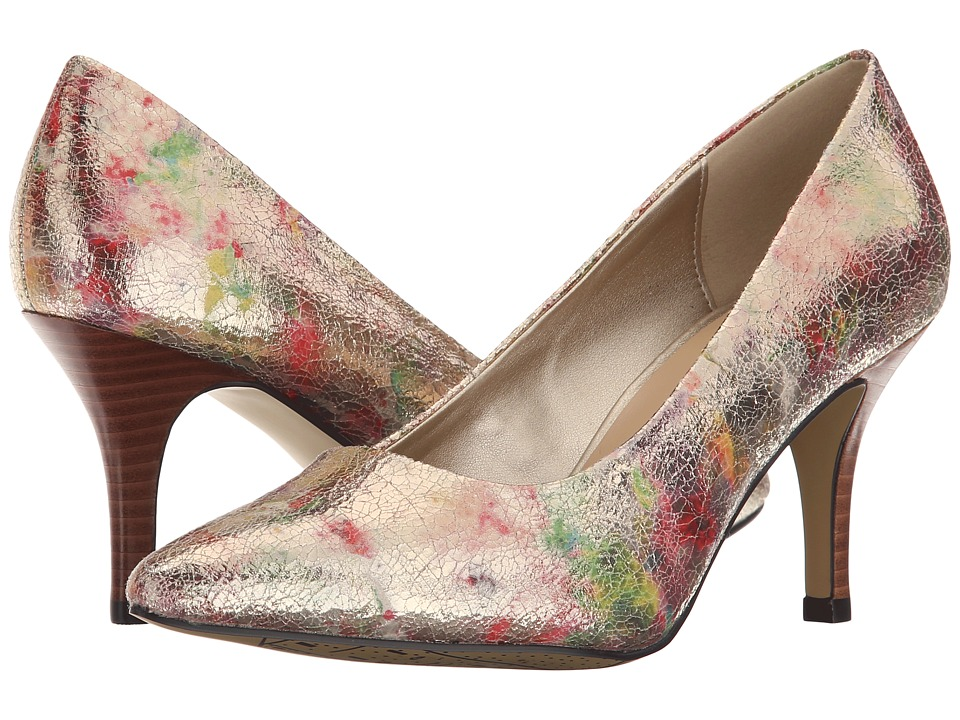 Bella-Vita - Define (Metallic Floral) High Heels