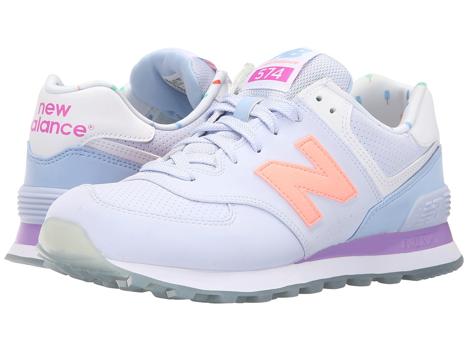 New Balance Classics - WL574v1 (Mirage/Twilight Purple) Women's Running Shoes