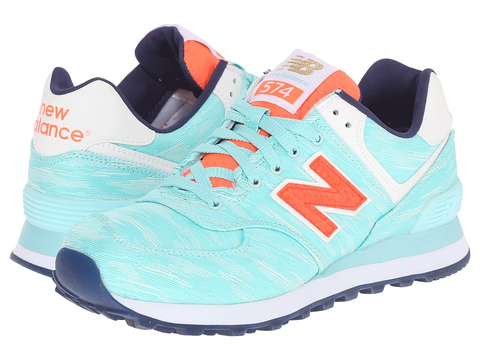 New Balance Classics - WL574v1 (Arctic Blue/Dragonfly) Women's Running Shoes