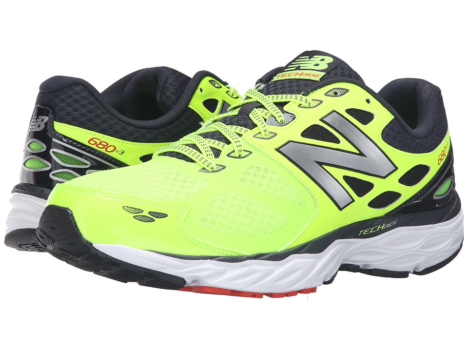 New Balance - M680V3 - USA (Toxic/Outspace) Men's Running Shoes