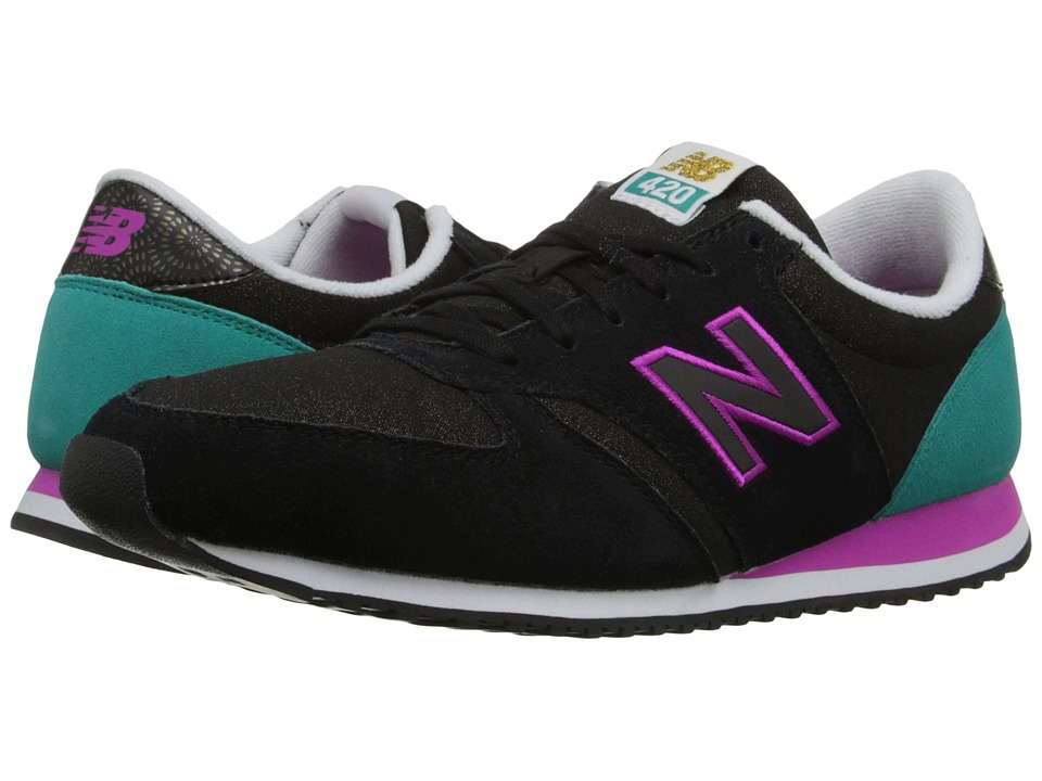 New Balance Classics - WL420v1 (Black/Galapagos) Women's Running Shoes