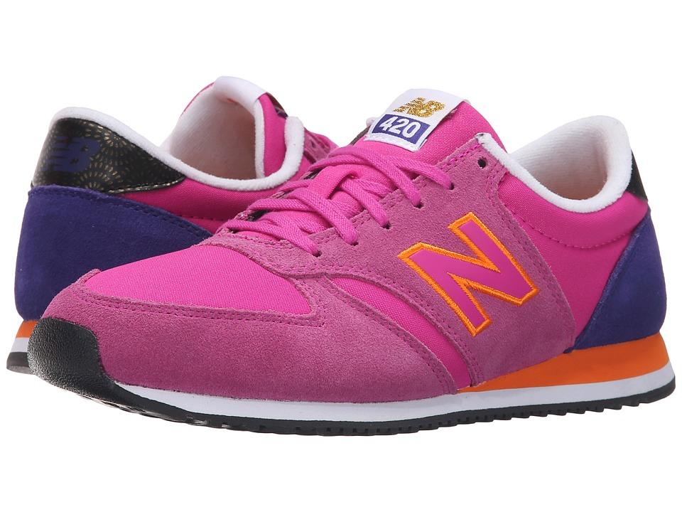 New Balance Classics - WL420v1 (Azalea/Lazarite) Women's Running Shoes