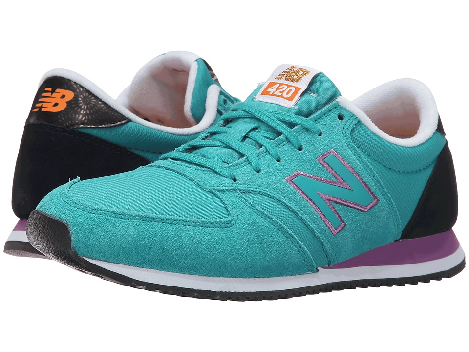 New Balance Classics - WL420v1 (Galapagos/Black) Women's Running Shoes