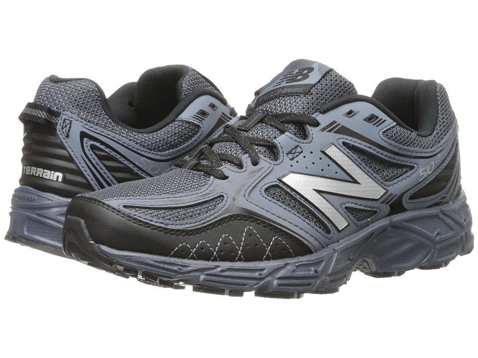 New Balance - MT510V3 - USA (Black/Grey) Men's Running Shoes