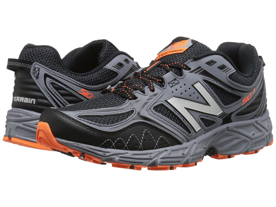 New Balance - MT510V3 - USA (Black/Grey) Men's Running Shoes