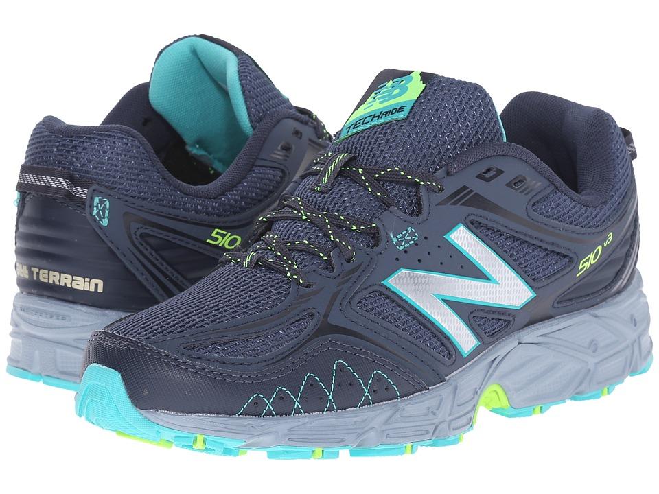 New Balance - WT510V3 - USA (Thunder/Reef) Women's Running Shoes